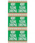 Merry F*cking Christmas Gift Tissue Paper 4 Sheets Sex Toy Product