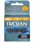 Trojan Bareskin Condoms 3 Count Box