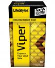 Lifestyles Viper Condoms 10 Pack  Sex Toy Product