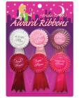 Bride To Be Award Ribbons - Pack Of 6