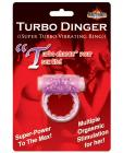 Humm Dinger Turbo Vibrating Cockring - Purple Sex Toy Product