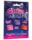 Girlie Nights Double Dare Dice Sex Toy Product