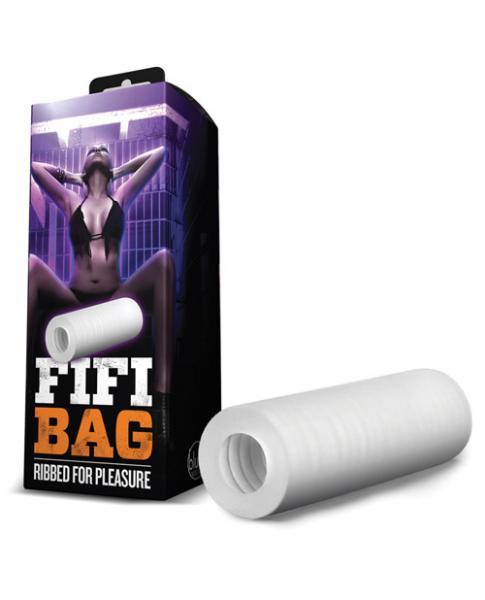 Plastic bag male masturbation