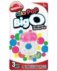 Color Pop Big O Pink Ring