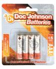 Doc Johnson Batteries - AAA 4 Pack Sex Toy Product