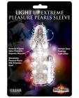 Light Up Extreme Vibrating Pleasure Clear Sleeve