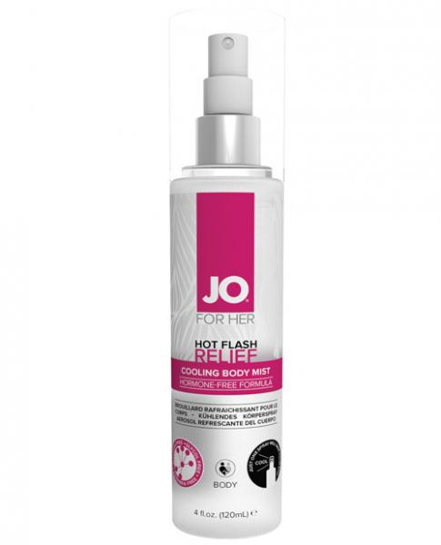 Jo Hot Flash Relief Spray Cooling Body Mist 4oz