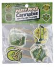 Cannabis Party Picks 24 Toothpick Toppers
