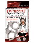 Dominant Submissive Metal Handcuffs - Metal Sex Toy Product