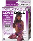 Mercedes Inflatable Love Doll Brown