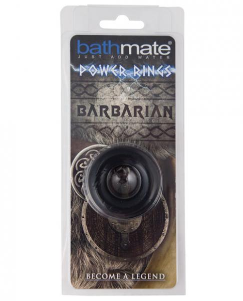 Bathmate Barbarian Cock Ring Black