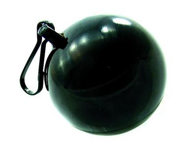 Weight Ball W/Clip 10 Oz Black