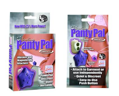 Vibrating panty pal,star purple