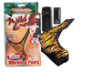 Wild exotics remote control vibrating panty o/s tiger