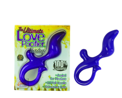 Love Pacifier Teardrop - Purple