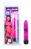 Houston Pink Leopard Massager 4.5""