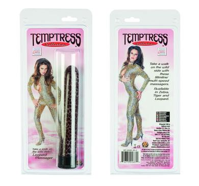 Temptress Collection Vibrator - Leopard
