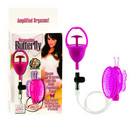 Resonating Butterfly Clitoral Pump - Pink