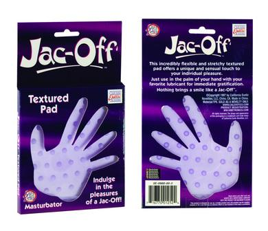 Jac-off Masturbator textured pad
