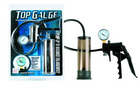 Top gauge, pressurized pump