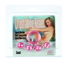 Crystalline acrylite beads small - champagne