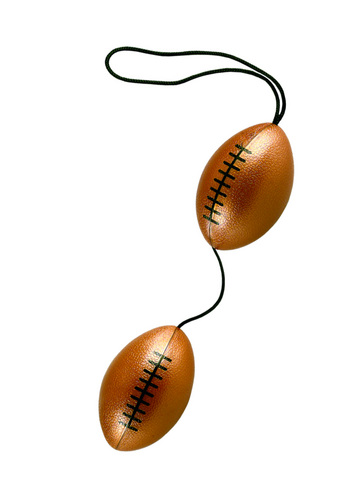 Weighted Orgasm Balls - Footballs