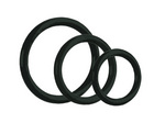 Tri-rings - black