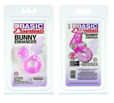 Basic Essentials Bunny Enhancer Pink Ring