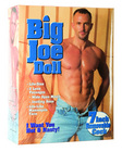 Big joe doll with 7in removable cock