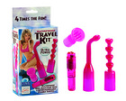 Waterproof travel kit - pink