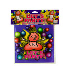 Let's party! 8 happy penis party napkins