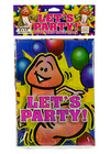 Let's party! table cloth  6' x 4'.3 Sex Toy Product