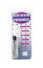 Prong nipple clamps - silver