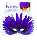 Festiva exotic mask - purple
