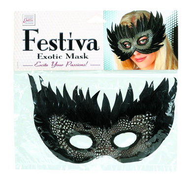 Festiva Exotic Mask Black