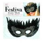 Festiva exotic mask - black