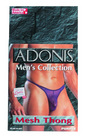 Adonis Men's Mesh Thong -Purple
