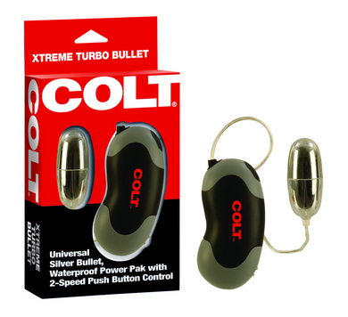 Colt Extreme Turbo Bullet Waterproof Power Pak 2-Speed Sex Toy Product
