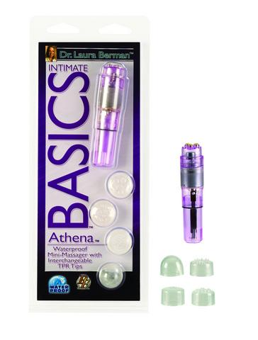 Berman athena waterproof mini massager (clamshell)