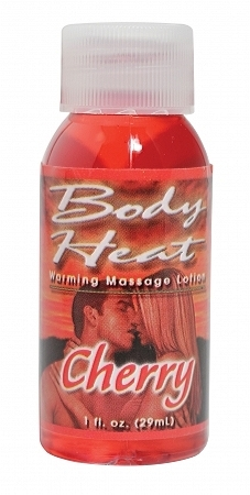 Body Heat Cherry 1 Oz