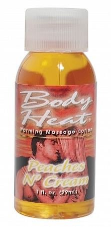 Body Heat Peaches N Cream 1 Oz