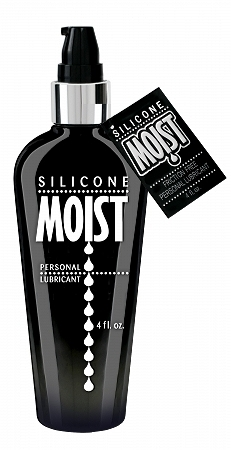 Moist silicone lube  4 oz