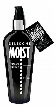 Moist Silicone Lubricant - 4 oz