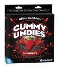 Edible Male Gummy Undies Strawberry Sex Toy Product
