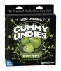 Edible Male Gummy Undies Green Apple