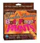Chocolate fantasy body finger paint - 4 flavors