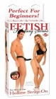Fetish Fantasy Series Beginner&#039;s Hollow Strap-On Black