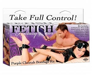 Fetish Fantasy Bondage Kit Purple
