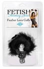 Fetish Fantasty Feather Love Cuffs Black Sex Toy Product