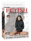 Fetish fantasy unisex straitjacket - black